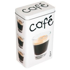 Incidence Boîte Café en métal