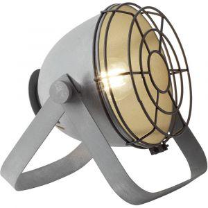 Brilliant AG Lampe de table LED E27 60 W EEC: selon lampoule (A++ - E) Bo 93683/70 gris béton