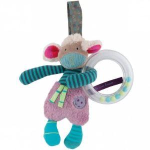 Moulin roty Hochet anneau à suspendre mouton Les jolis pas beaux