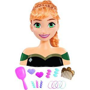 IMC Toys Tête à coiffer Anna La Reine Des Neiges