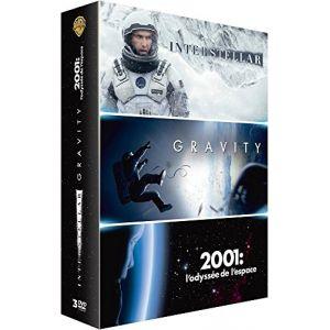 Coffret Interstellar + Gravity + 2001, l'odyssée de l'espace