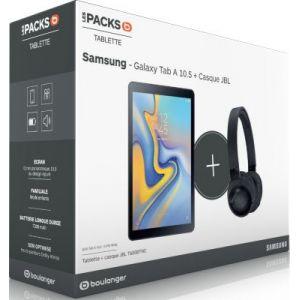 Samsung Pack Galaxy Tab A 10.5 Noir + Casque JBL