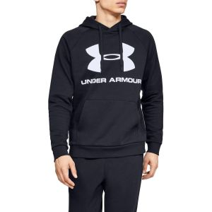 Under Armour Rival Fleece Sportstyle Logo Hoodie - Sweat à capuche taille L, noir