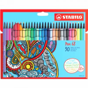 Stabilo 30 feutres Pen 68 Zentangle