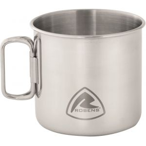 Robens Articles de cuisine Pike Steel Mug 450ml - Stainless Steel - Taille One Size