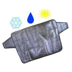 IWH Protection de pare-brise contre le gel argent 1 pc(s)