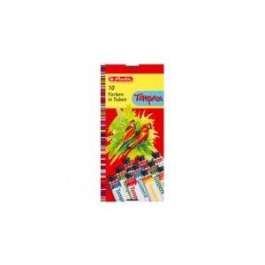 Herlitz Boîte de 10 gouaches en tube (10 x 16 ml)