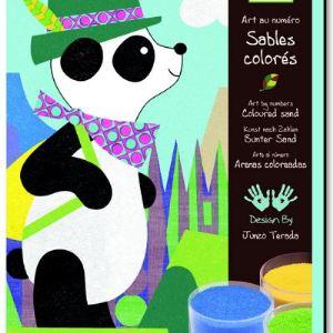 Djeco Sables colorés : Panda et ses amis