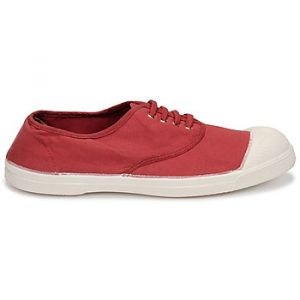 Bensimon Baskets basses TENNIS LACET rouge - Taille 36,37,38,39,40