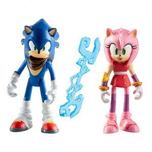 Tomy Sonic et Amy - Figurine Animation Sonic Boom