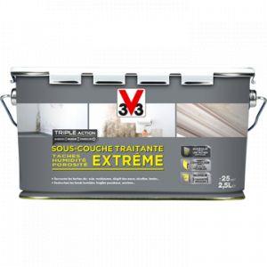 V33 Sous-couche traitante extrême tâches humidité porosité mat 2.5L