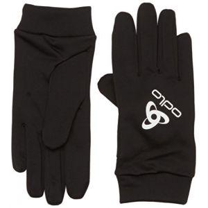 Odlo Stretchfleece Liner Warm Gants Mixte Adulte, Black, FR : XS (Taille Fabricant : XS)