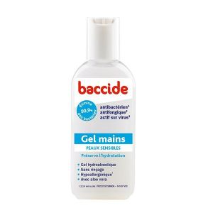 Cooper Baccide gel mains peau sensible - 30 ml