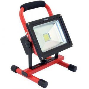 Velamp Projecteur de chantier rechargeable LED 20W Industries,