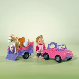 Simba Toys Evi Love Jeep et van à cheval
