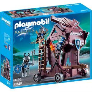 Playmobil 6628 Chevaliers - Tour d'attaque des chevaliers du Faucon