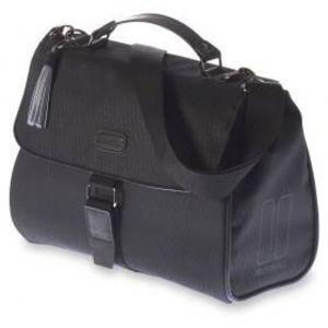 Basil Noir City - Sac porte-bagages - 6l noir Sacoches pour guidon