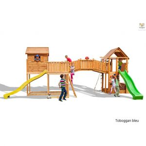Fungoo Aire de jeux Maxi Plaza bleu