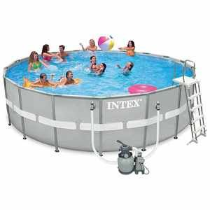 Intex Ultra Frame Pool Set - Piscine ronde tubulaire