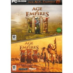 Age of Empires III Gold Edition - Le jeux + l'extension The WarChiefs [PC]