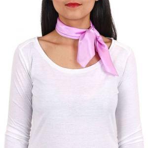 Allée du foulard Carré de soie Piccolo PARME uni