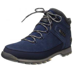 Timberland Euro Sprint Hiker, Bottes Chukka Homme, Bleu (Black Iris), 45 EU