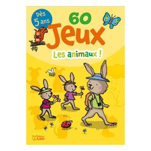 Editions Lito 60 Jeux Les Animaux Bloc