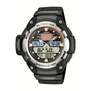 Casio SGW- 400H-1B - Montre pour homme avec bracelet en résine