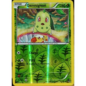 Asmodée Germignon - Carte Pokémon 1/122 Reverse Xy Rupture turbo