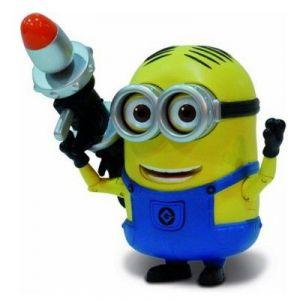 Mondo Figurine de luxe Dave et son lance-roquettes Moi Moche et Méchant