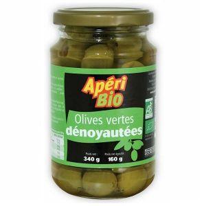 Apéri bio Olives vertes dénoyautées - 340g