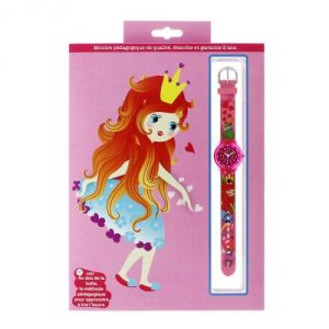 Baby Watch 606078 - Montre pour fille Pédagogique Princesse