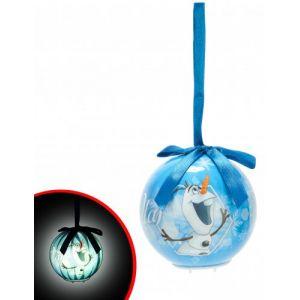 Boule de Noël lumineuse Disney Olaf