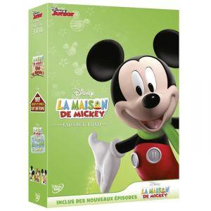 Coffret La maison de Mickey - Mickey - Mickey et Donald ont une ferme + Le tour du Monde de Mickey + Vive la nature !