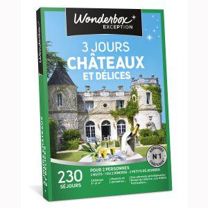 Wonderbox 3 jours châteaux et délices - Coffret cadeau 230 séjours