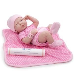 Berenguer Bébé fille Newborn en vynile (36 cm)
