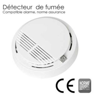 SGD Détecteur de fumée et incendie sans fil (norme EN 14604)