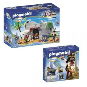 Playmobil Pack Super4 Barbe de requin