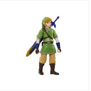 Jakks Pacific Link - Figurine World of Nintendo Zelda articulée 10 cm