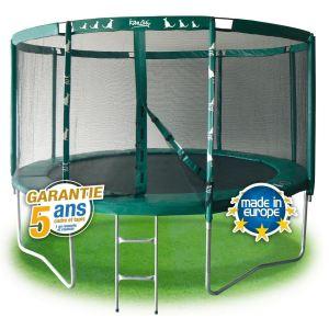 Kangui Pack trampoline Famili 430 avec filet de protection et échelle 426 cm
