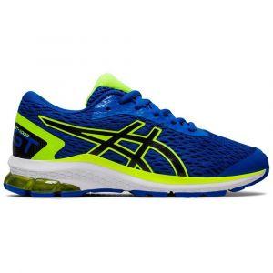 Asics Chaussures running Gt 1000 9 Gs - Tuna Blue / Black - Taille EU 34 1/2