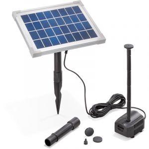 Esotec Pompe solaire pour bassin 5W 250 l/h Pompe solaire pour bassin de jardin 101909