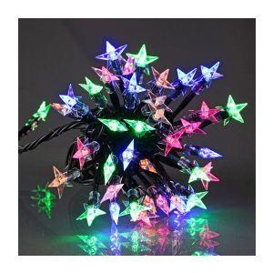 Guirlande lumineuse étoiles cristallisées 60 LED