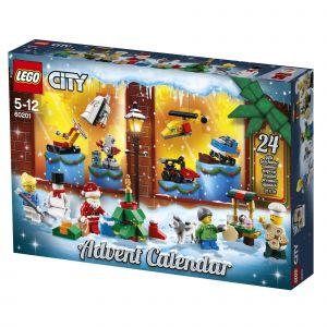 Lego Le Calendrier De L'avent City 60201
