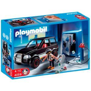 Playmobil 4059 - Voiture et cambrioleur de coffre-fort
