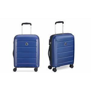 Delsey Valise cabine rigide Binalong 55 cm Bleu Black Friday