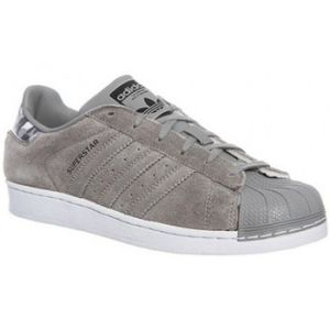 Adidas Superstar Beige Camo Baskets Enfant