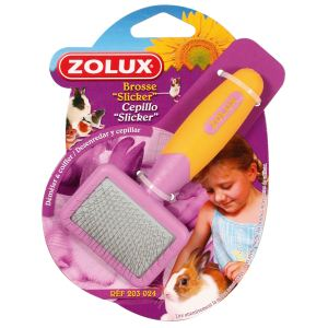 Zolux Brosse Slicker pour rongeur