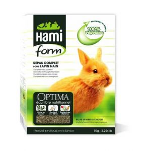 Hamiform Repas complet lapin nain 7 kg