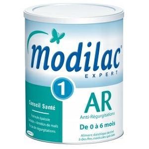 Modilac Lait Anti-regurgitation 1er âge 900g - de 0 à 6 mois